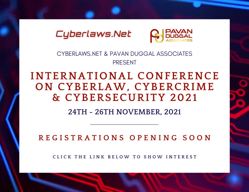 International Conference on cyberlaw